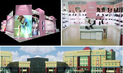 2007哈森冬靴新品发布会图片