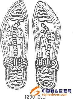 古埃及服装与鞋子的历史图片
