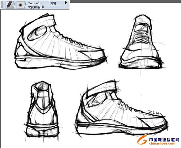 用painter设计鞋子