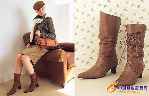超级可爱女生今秋流行靴子大展示