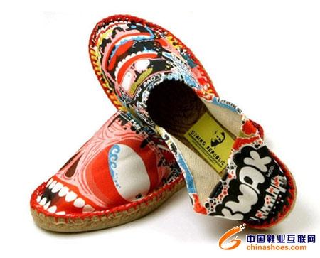 欧洲顶级平面设计师的布鞋作品