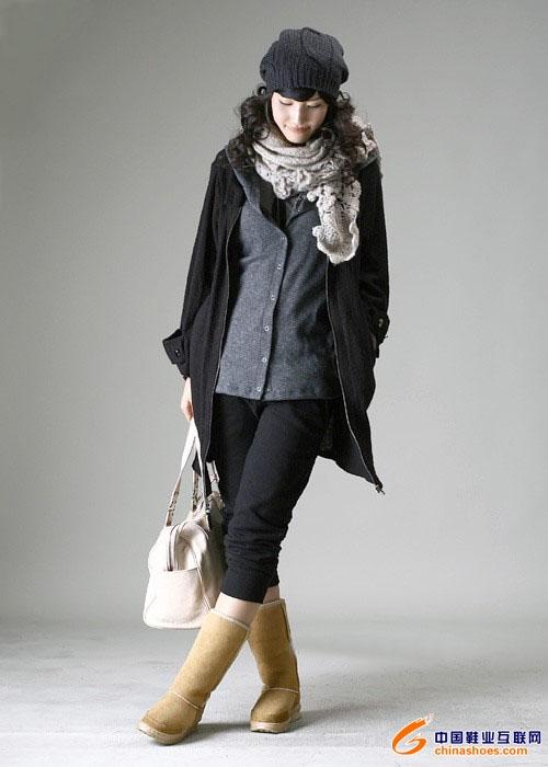冬季韩式穿着搭配参考
