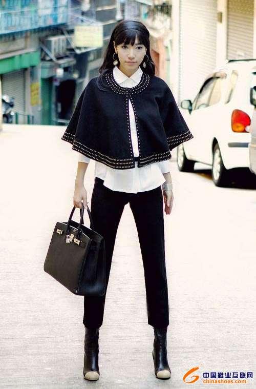 最新韩国街头时尚服饰搭配