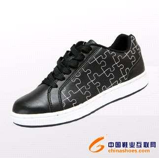 帆布鞋手绘线条