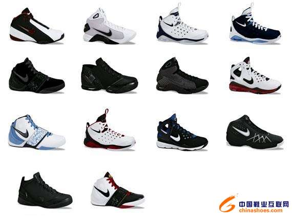 抢先预览nike 2008夏季篮球鞋