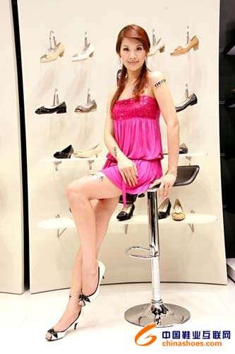 意大利休闲鞋geox活动名模出席