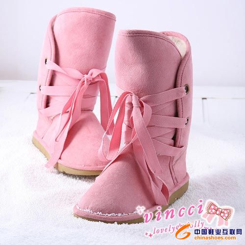 冬季女生最爱雪地靴