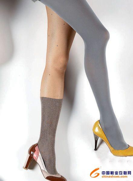 鞋要搭配圆头矮腰的淑女鞋就完美不过了!