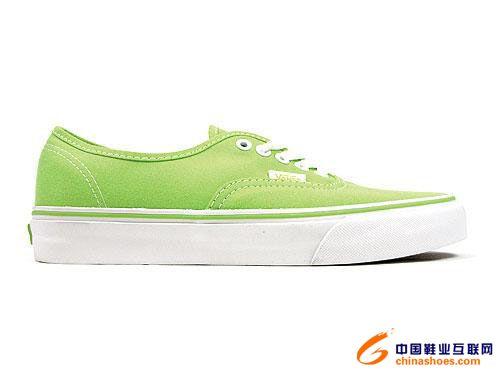 Vans09春季新配色经典鞋款