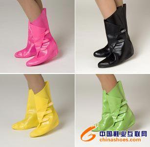 时尚雨鞋雨套