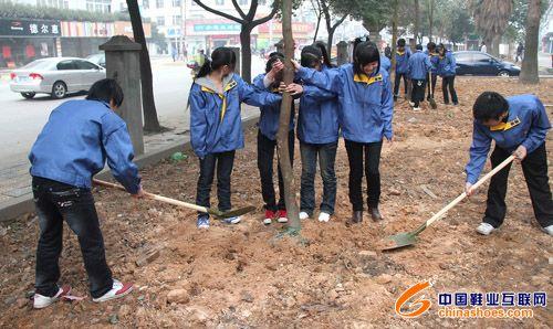 志愿者 吉尔达 义务植树/吉尔达志愿者义务植树