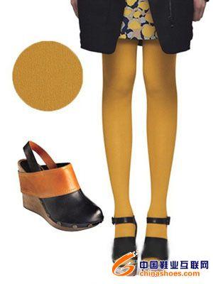 彩色丝袜与高跟鞋搭配法则集锦